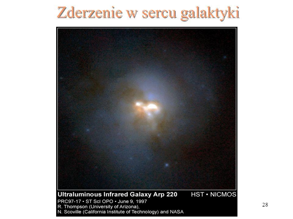 28 Zderzenie w sercu galaktyki