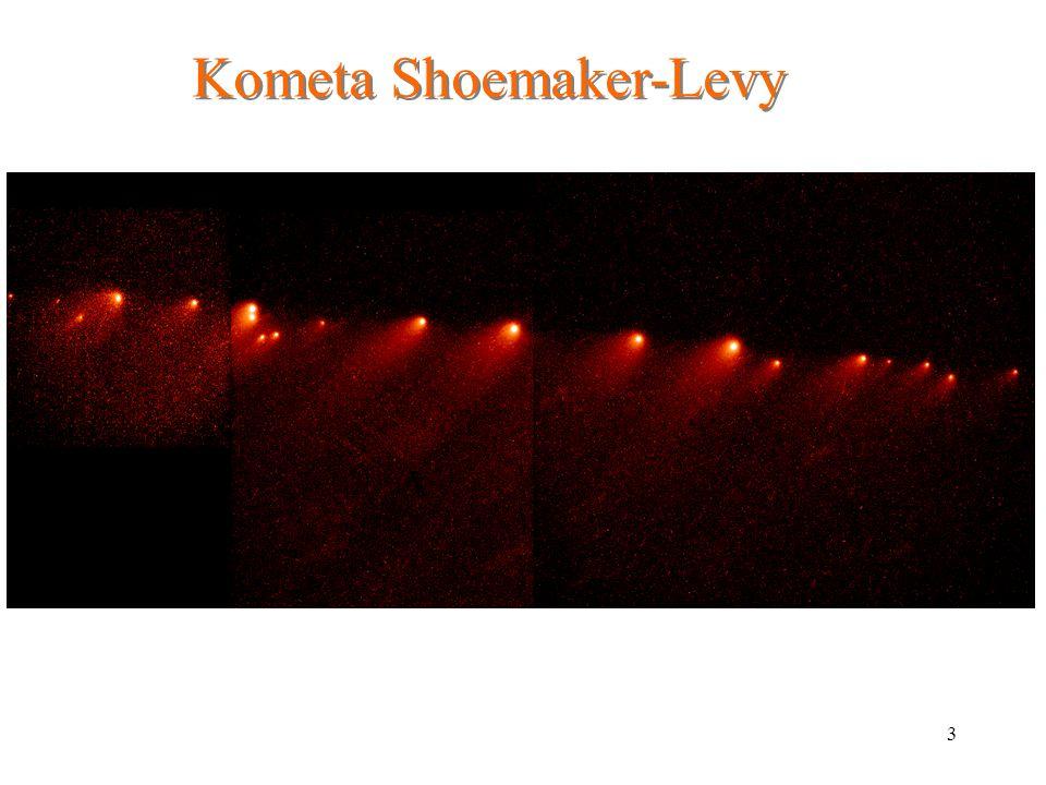 3 Kometa Shoemaker-Levy