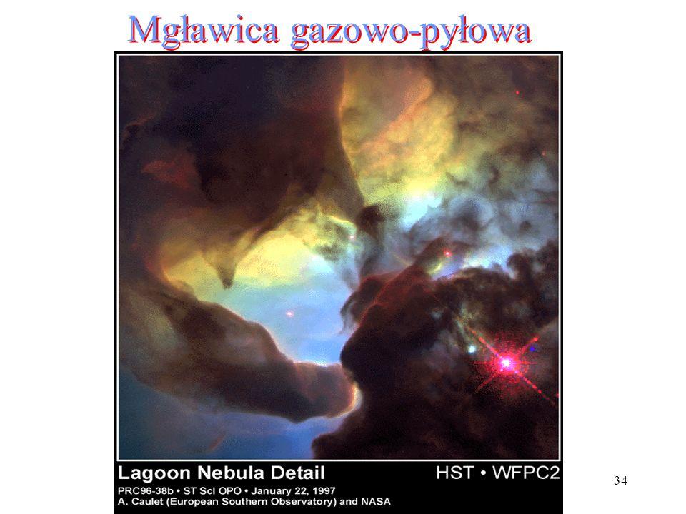 34 Mgławica gazowo-pyłowa