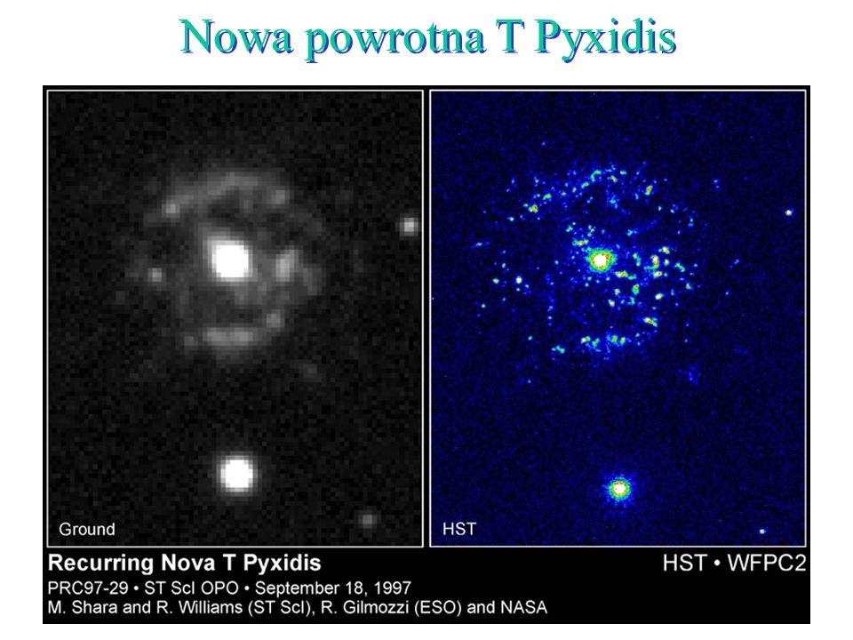 43 Nowa powrotna T Pyxidis
