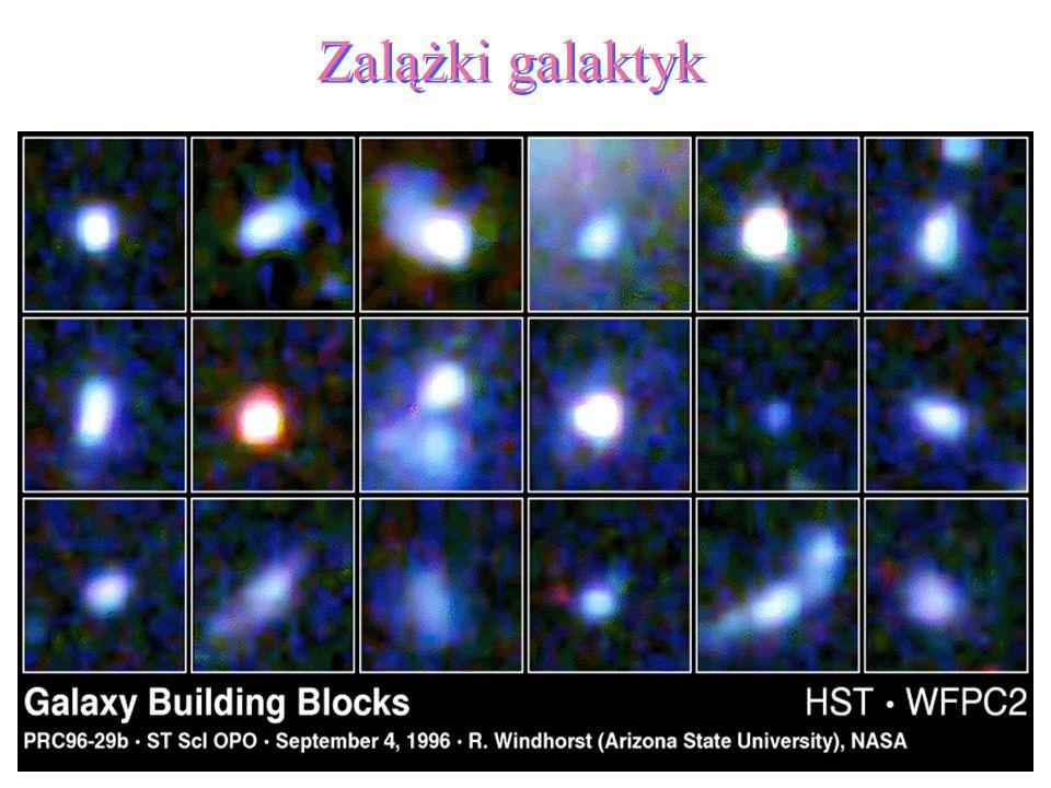 49 Zalążki galaktyk