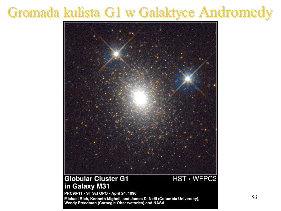 56 Gromada kulista G1 w Galaktyce Andromedy
