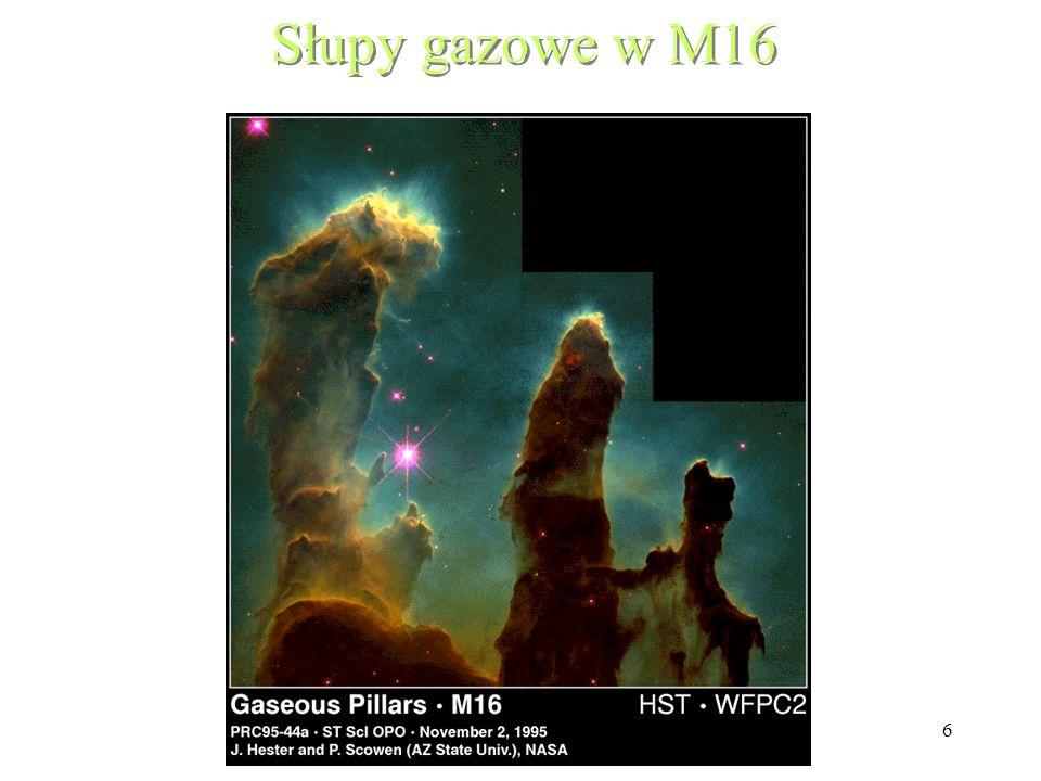57 Rotacja gazowego dysku w jądrze M87