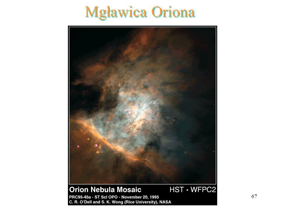 67 Mgławica Oriona