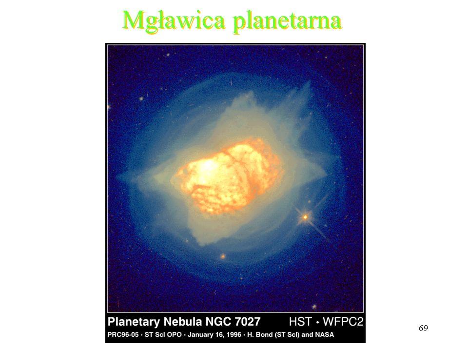 69 Mgławica planetarna