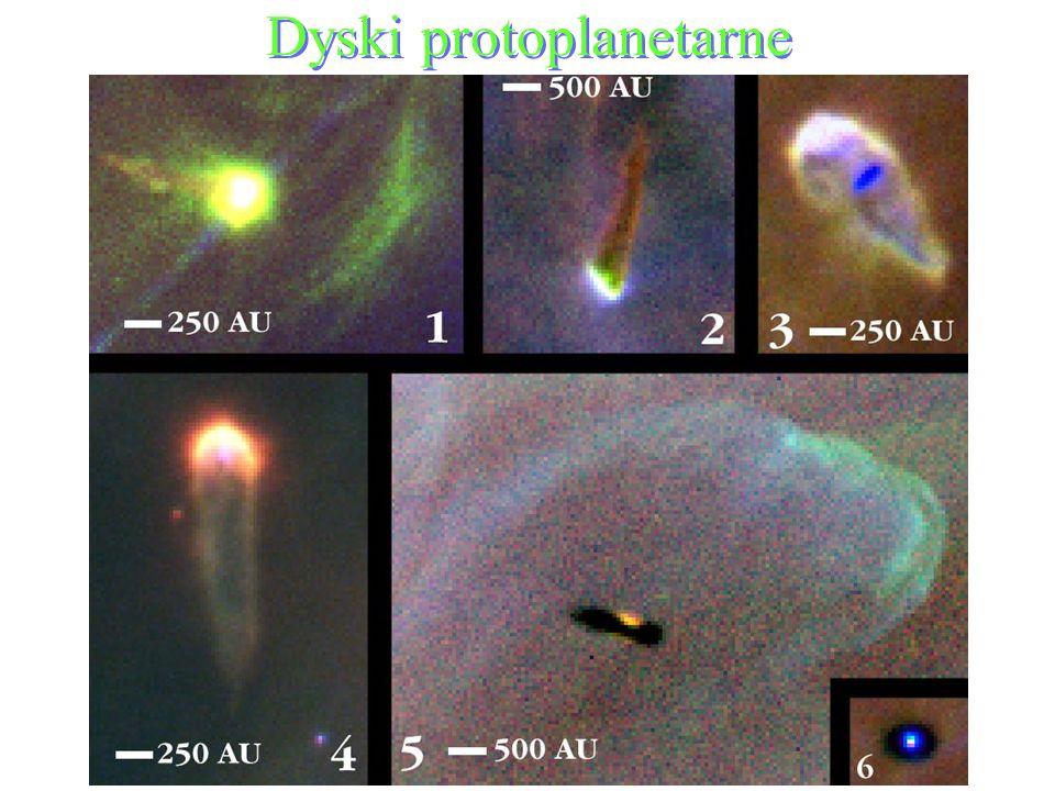 82 Dyski protoplanetarne