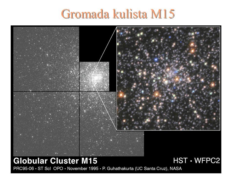 9 Gromada kulista M15