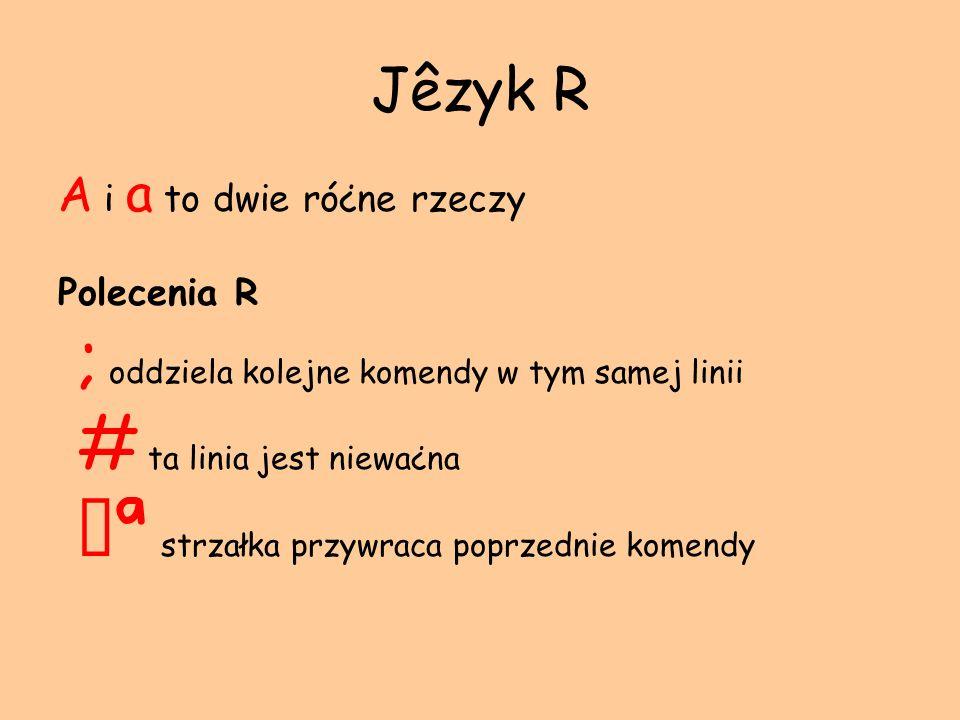 Zmienna grupująca (1) styl <- c(jazz, folk, hh, hh, folk ) grupa <- factor( styl ) ; grupa [1] jazz folk hh hh folk Levels: folk hh jazz table( grupa ) folk hh jazz 2 2 1