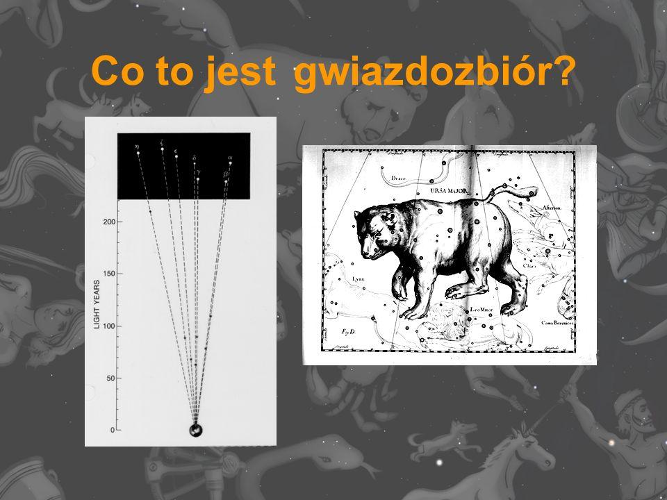 Co to jest gwiazdozbiór?