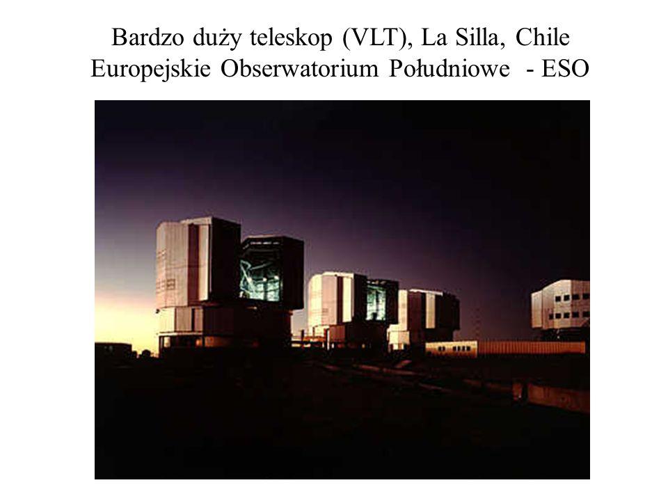 Bardzo duży teleskop (VLT), La Silla, Chile Europejskie Obserwatorium Południowe - ESO