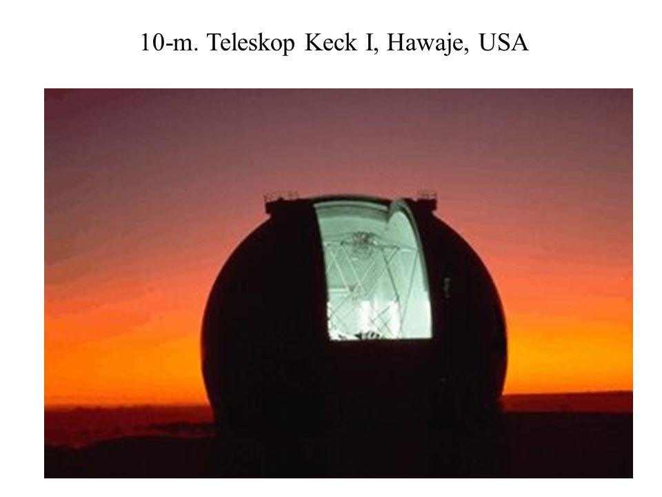 10-m. Teleskop Keck I, Hawaje, USA
