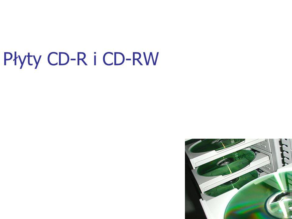 Płyty CD-R i CD-RW