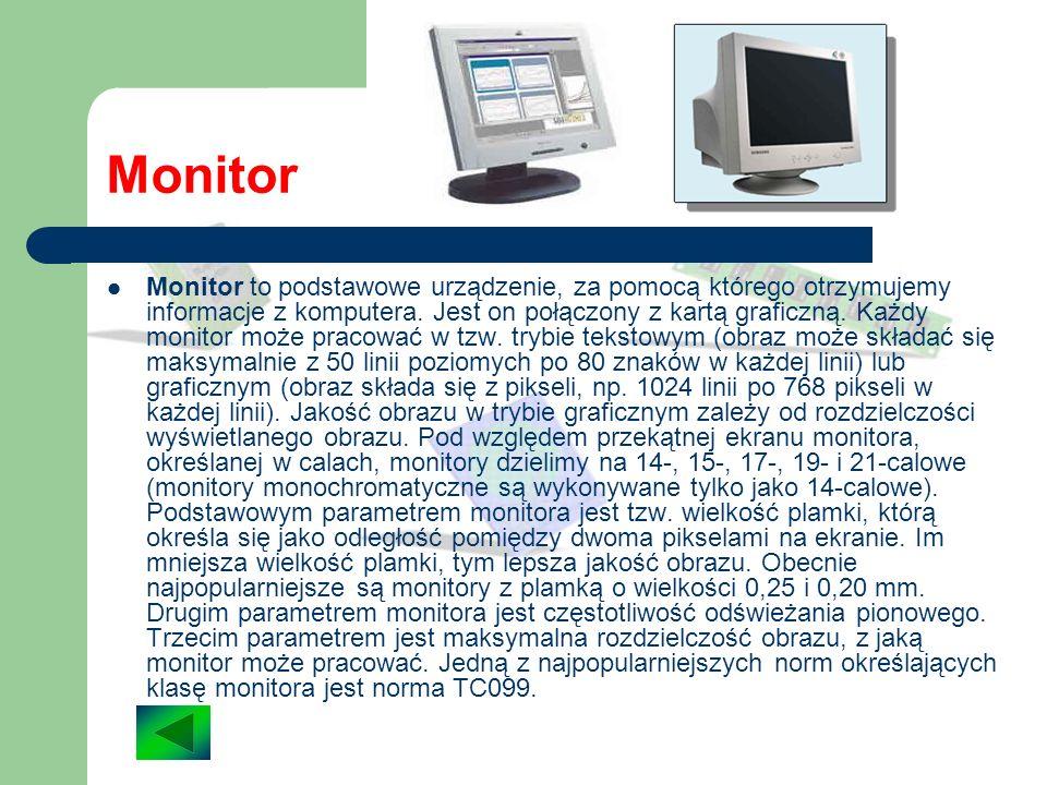 Napęd CD-ROM Odczyt danych z płyt CD-ROM odbywa się za pomocą odpowiedniego urządzenia, zwanego napędem CD-ROM. W celu zapisania danych na dysku CD na