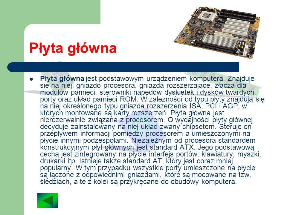 Pytania Jakie są podstawowe elementy budowy komputera? Co to jest procesor i do czego służy? Jakie znasz rodzaje obudów komputera? ? ?