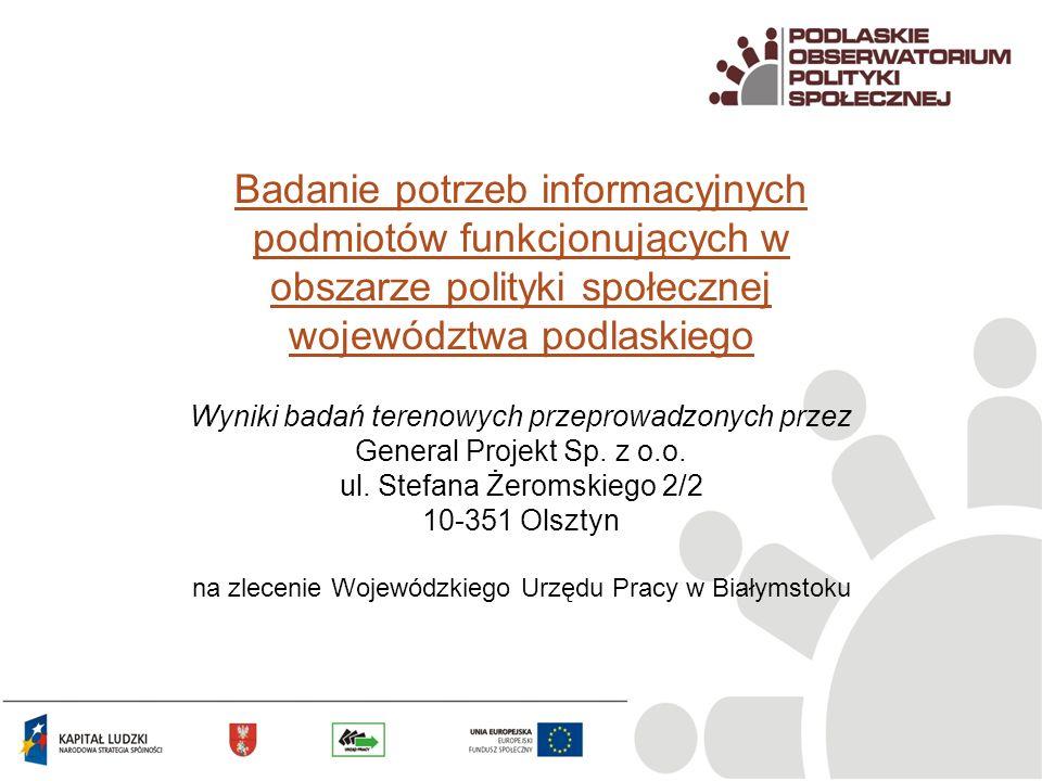 Wyniki badań terenowych przeprowadzonych przez General Projekt Sp. z o.o. ul. Stefana Żeromskiego 2/2 10-351 Olsztyn na zlecenie Wojewódzkiego Urzędu