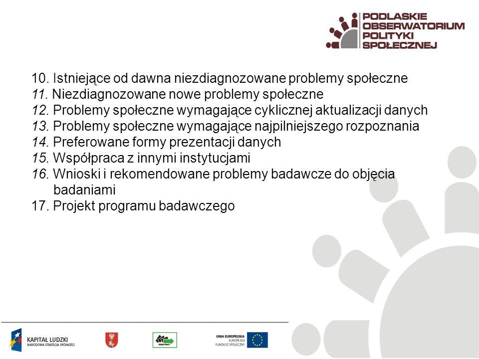Grupy zagrożone bezrobociem w pracy NGO, N=76