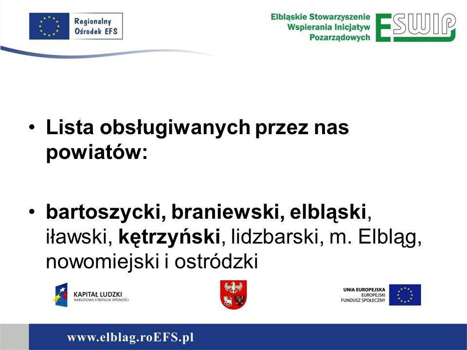 Regionalny Ośrodek EFS to miejsce otwarte dla wszystkich, którzy dostrzegają szansę rozwoju w możliwościach, jakie zapewnia Europejski Fundusz Społeczny