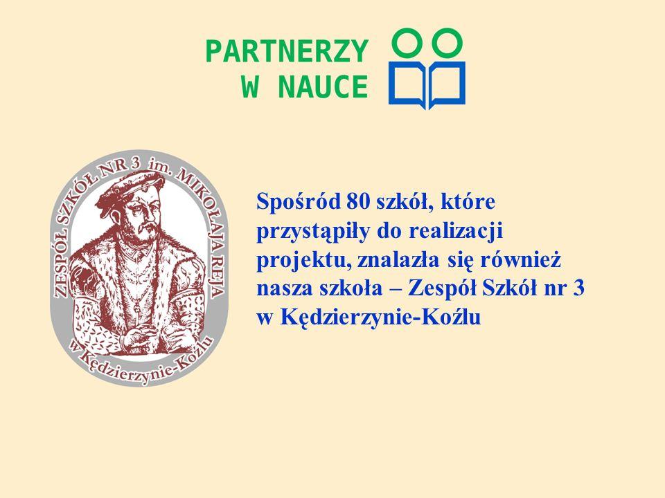 Projekt Partnerzy w nauce zorganizowany przez Uniwersytet Śląski w Katowicach, współfinansowany jest przez Unię Europejską, w ramach Europejskiego Funduszu Społecznego.