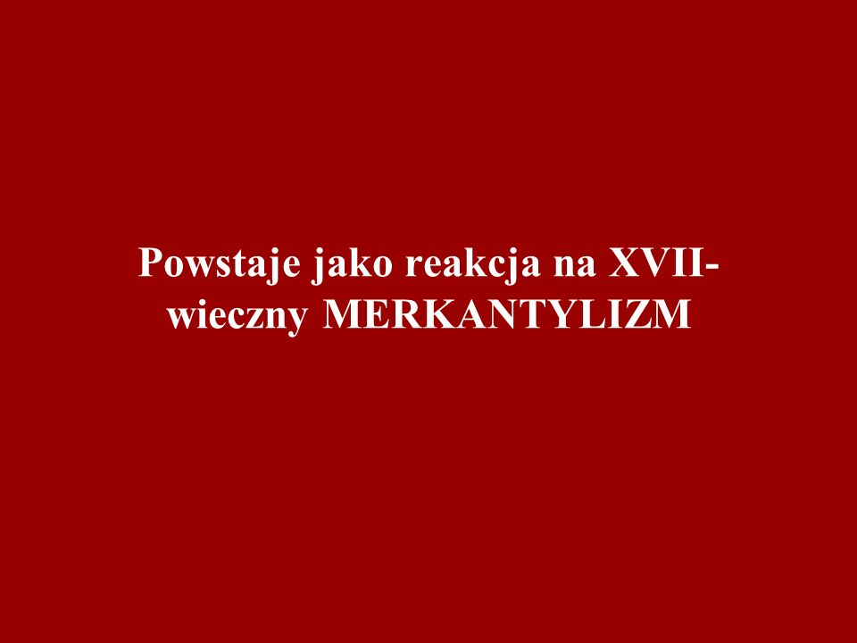III. LIBERALIZM SOCJALNY
