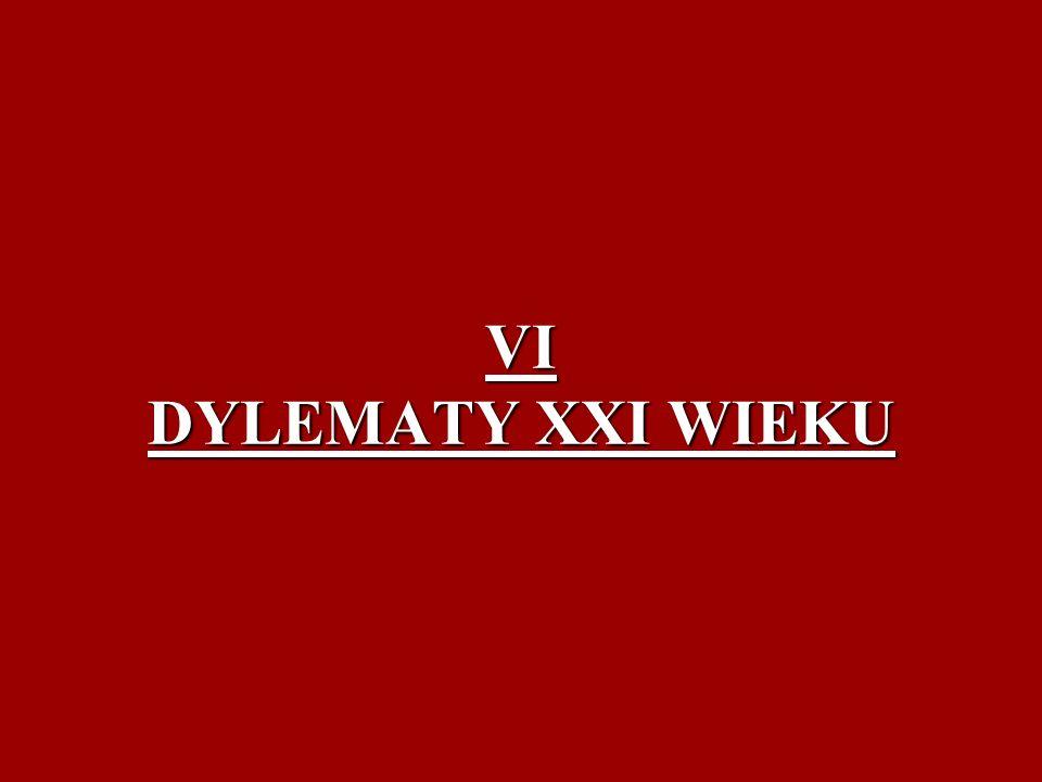 VI DYLEMATY XXI WIEKU