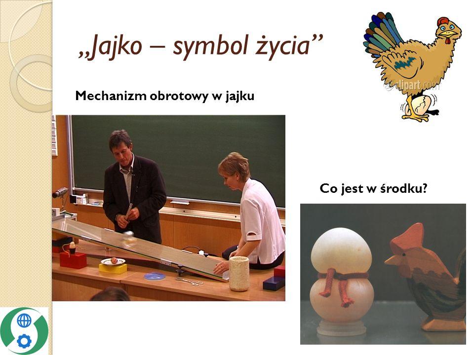 Jajko – symbol życia Mechanizm obrotowy w jajku Co jest w środku?