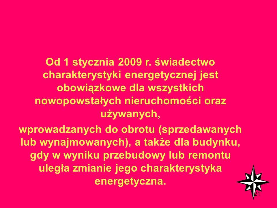 120 Komu ma służyć świadectwo : Projektantom – ma motywować do uwzględniania energooszczędności projektowanych budynków we wszystkich stadiach opracow
