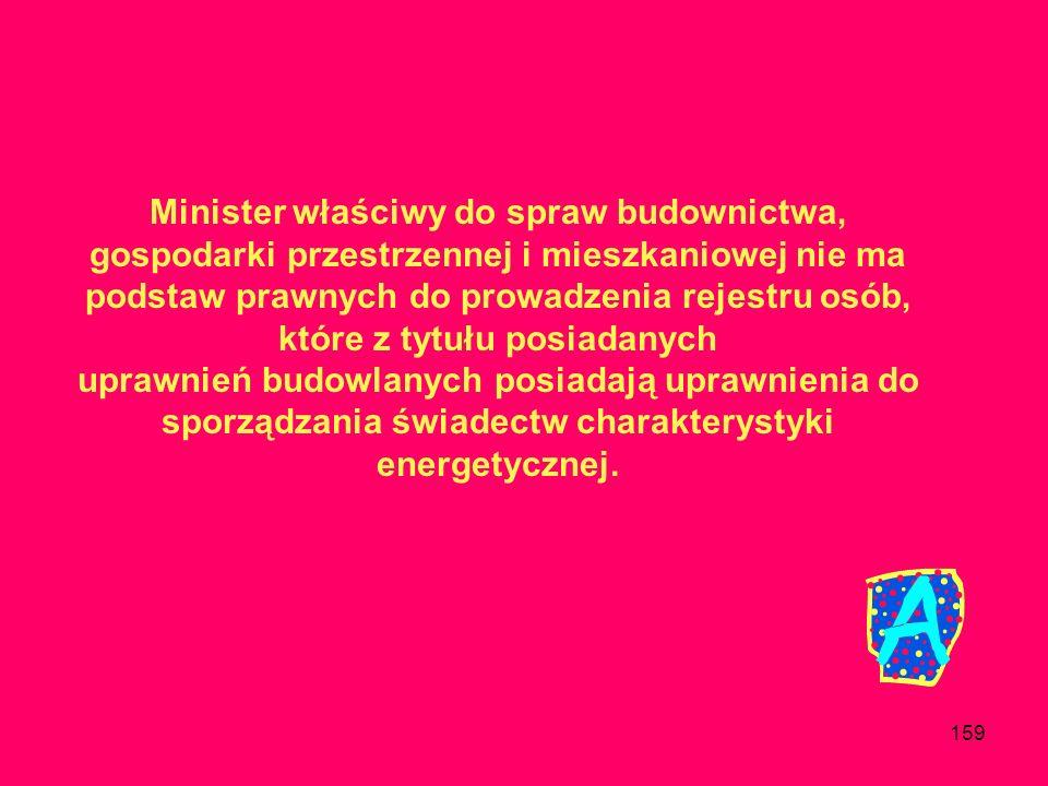 158 Czy jeżeli świadectwo charakterystyki energetycznej zostało sporządzone dla budynku, to jak należy sporządzić świadectwo charakterystyki energetyc