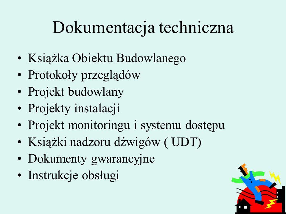 219 Dokumentacja techniczna Dokumentacja eksploatacyjna Dokumentacja księgowa Dokumentacja nieruchomości !