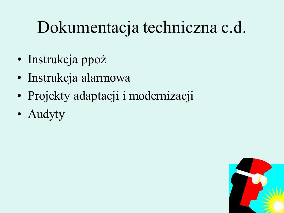 220 Dokumentacja techniczna Książka Obiektu Budowlanego Protokoły przeglądów Projekt budowlany Projekty instalacji Projekt monitoringu i systemu dostę