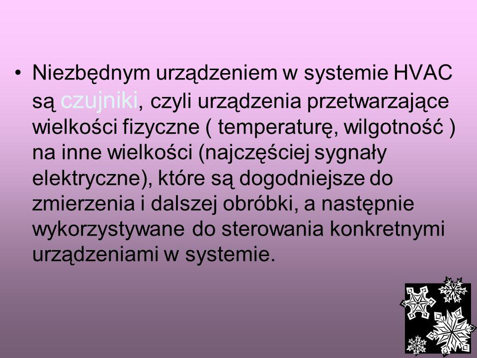 37 Zadania HVAC Utrzymywanie stałego komfortu cieplnego w użytkowanych pomieszczeniach ( temperatury i wilgotności powietrza) Monitorowanie parametrów