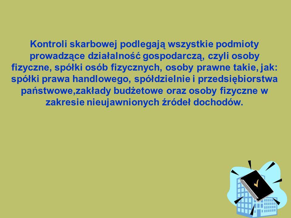 86 GIKS sprawuje nadzór nad działalnością: -Wojewódzkich Kolegiów Skarbowych -dyrektorów urzędów kontroli skarbowej -inspektorów zatrudnionych w urzęd