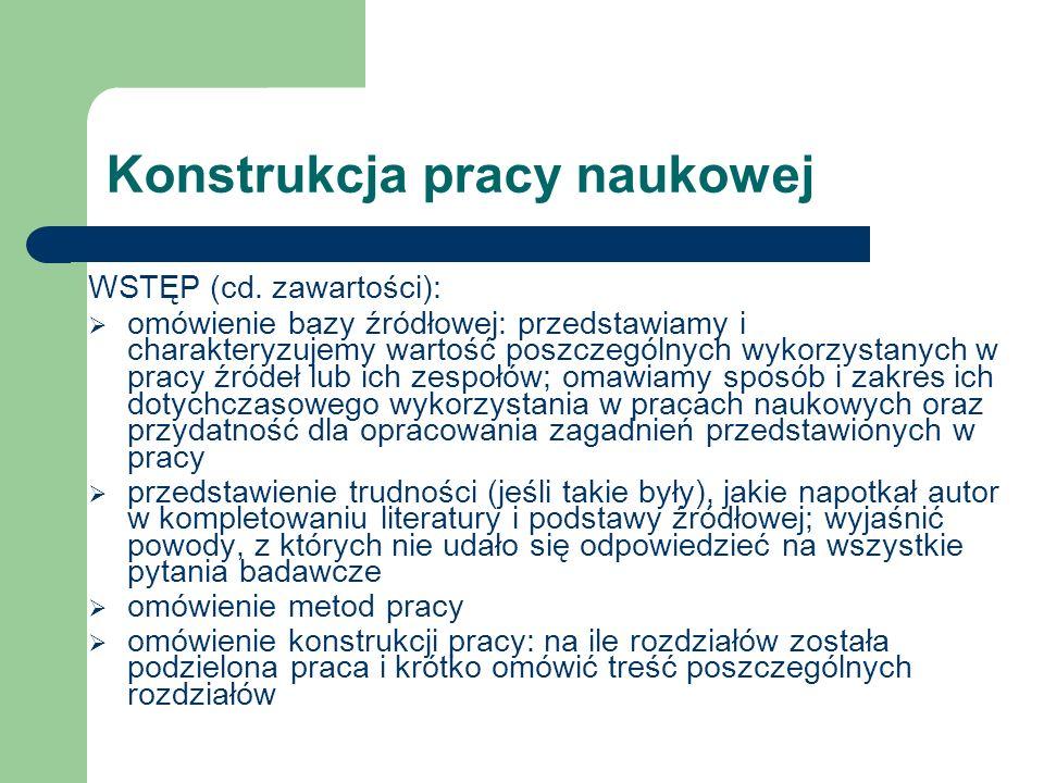 Zasady sporządzania przypisów skróconych Przykład: 1 J.