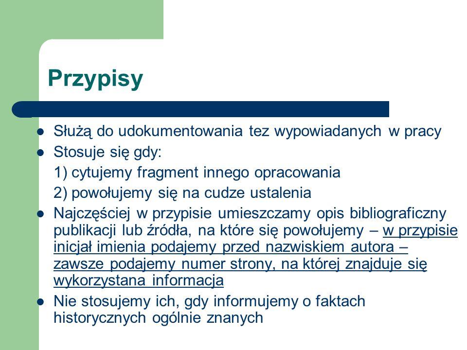 Zasady sporządzania przypisów skróconych Dz.cyt. (=Op.