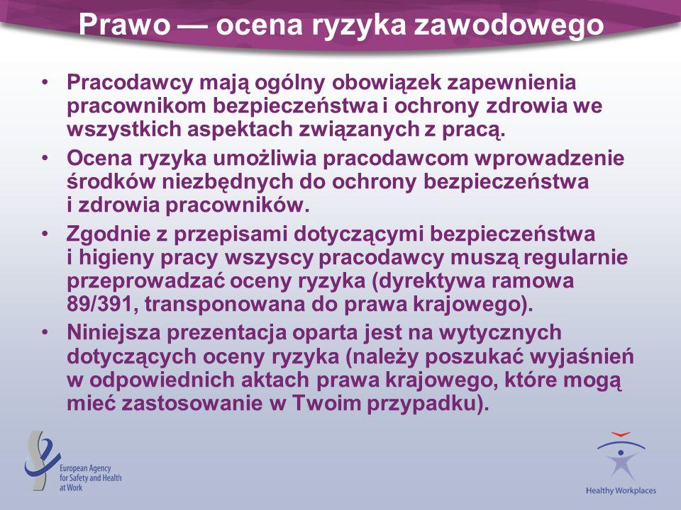 Etap 4: Podjęcie działania Wprowadzenie środków zapobiegawczych i środków ochrony.