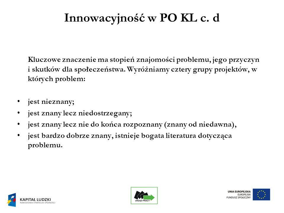 7 Innowacyjność w PO KL c.