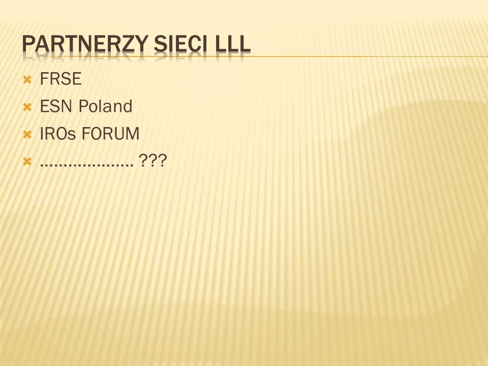 FRSE ESN Poland IROs FORUM ……………….. ???