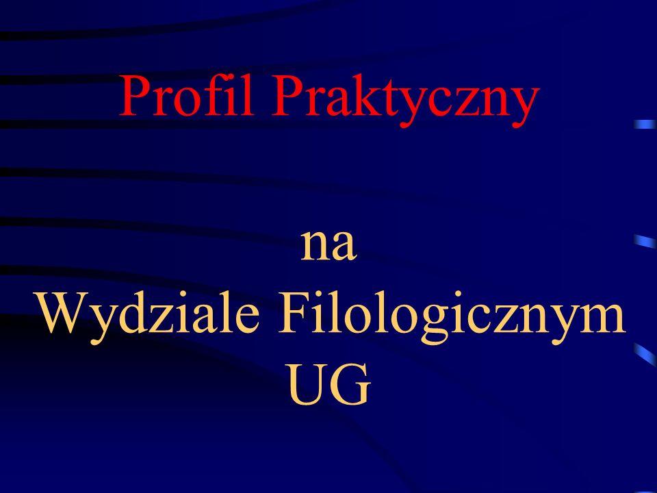 Profil Praktyczny na Wydziale Filologicznym UG