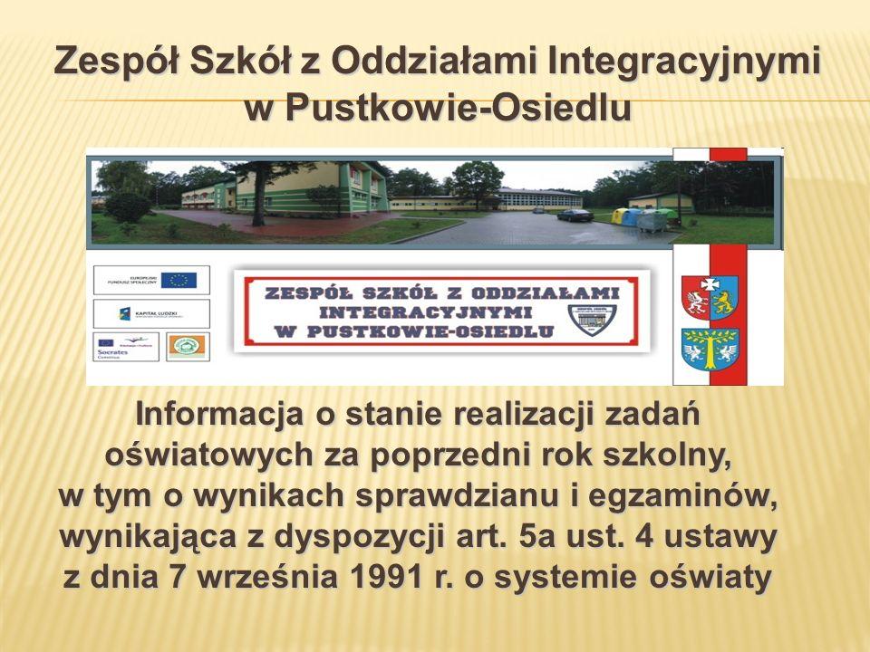 Wyniki Punkty% punktów Szkoła22,1044% Gmina24,5049% Powiat24,3049% Województwo24,4049%
