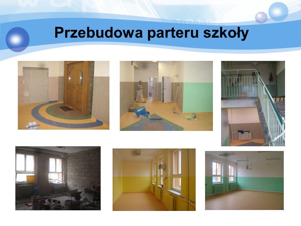 Przebudowa parteru szkoły
