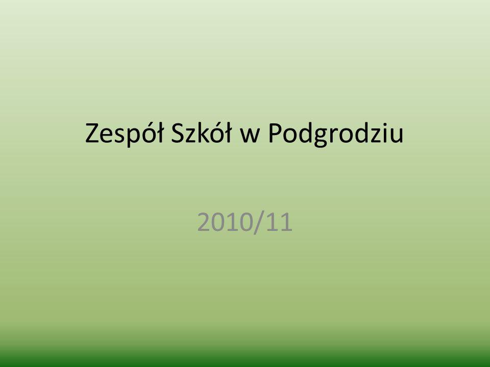 Zespół Szkół w Podgrodziu 2010/11