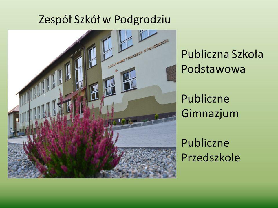 Zespół Szkół w Podgrodziu Publiczna Szkoła Podstawowa Publiczne Gimnazjum Publiczne Przedszkole
