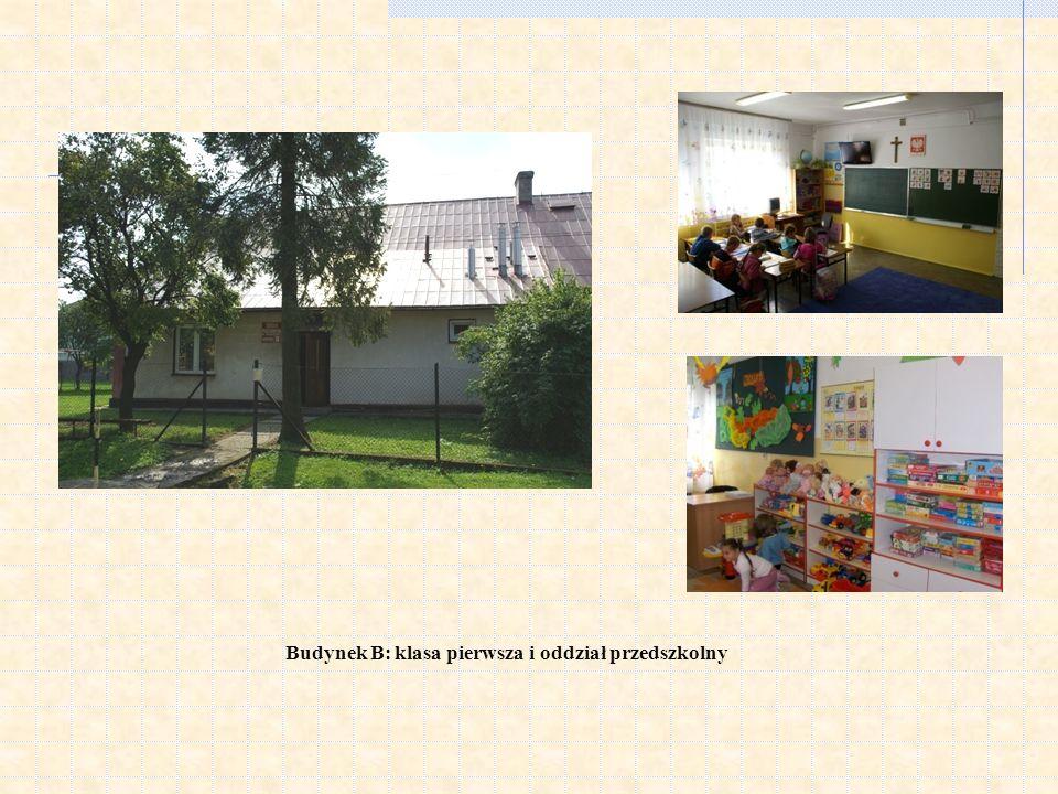 Budynek B: klasa pierwsza i oddział przedszkolny