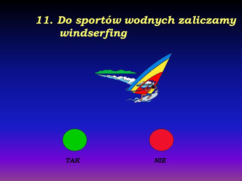 10. W skład Trójmiasta wchodzą Gdańsk, Gdynia i Świnoujście TAKNIE
