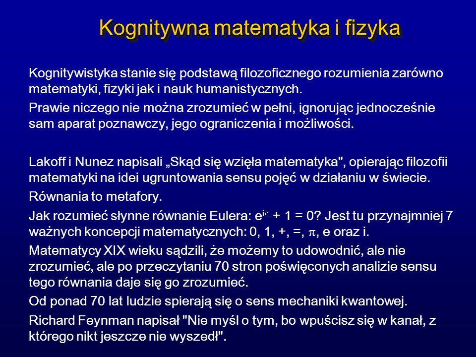 Neurochemia umysłu Dopamina: ogólne pobudzenie, aktywność ruchowa.
