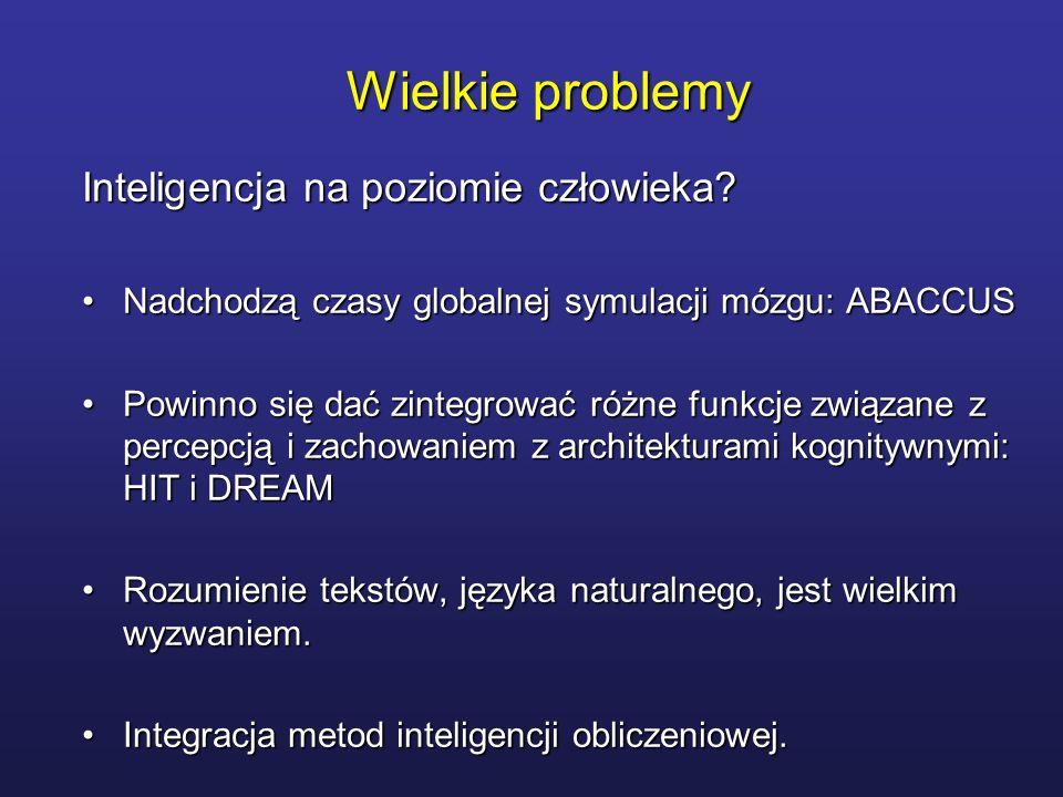 Wielkie problemy Inteligencja na poziomie człowieka? Nadchodzą czasy globalnej symulacji mózgu: ABACCUSNadchodzą czasy globalnej symulacji mózgu: ABAC