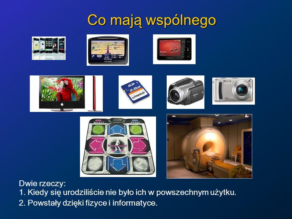 Cywilizacja = fizyka + informacja Większość przedmiotów powszechnego użytku mamy dzięki fizyce: Energia to domena fizyki: od poszukiwania złóż ropy (geofizyka), przez generacje (elektrownie wszelkiego rodzaju, nowe źródła), gromadzenie (baterie, akumulatory), przesyłanie, do wykorzystania w urządzeniach mechanicznych i elektrycznych.