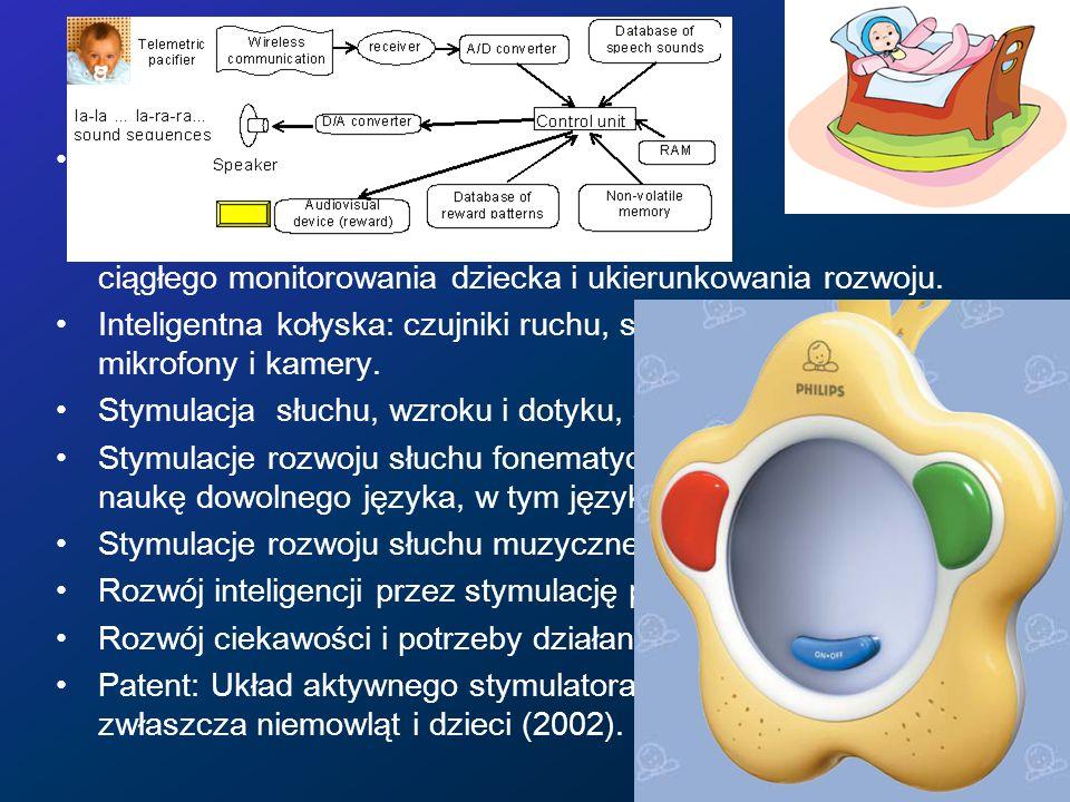 Rozwój niemowląt Projekt inteligentnej kołyski i zabawek kognitywnych, do wczesnej diagnostyki, wykrywania nieprawidłowości rozwoju, ciągłego monitoro