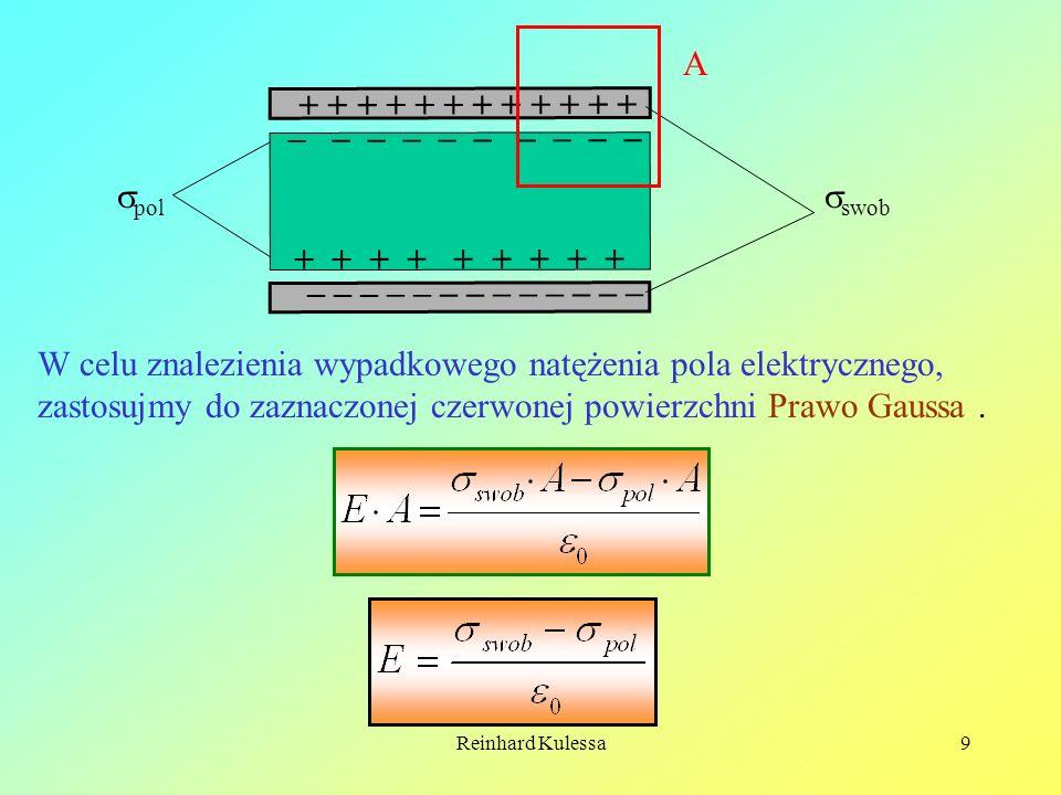 Reinhard Kulessa10 Korzystając z równania (8.3) otrzymujemy: (8.4).