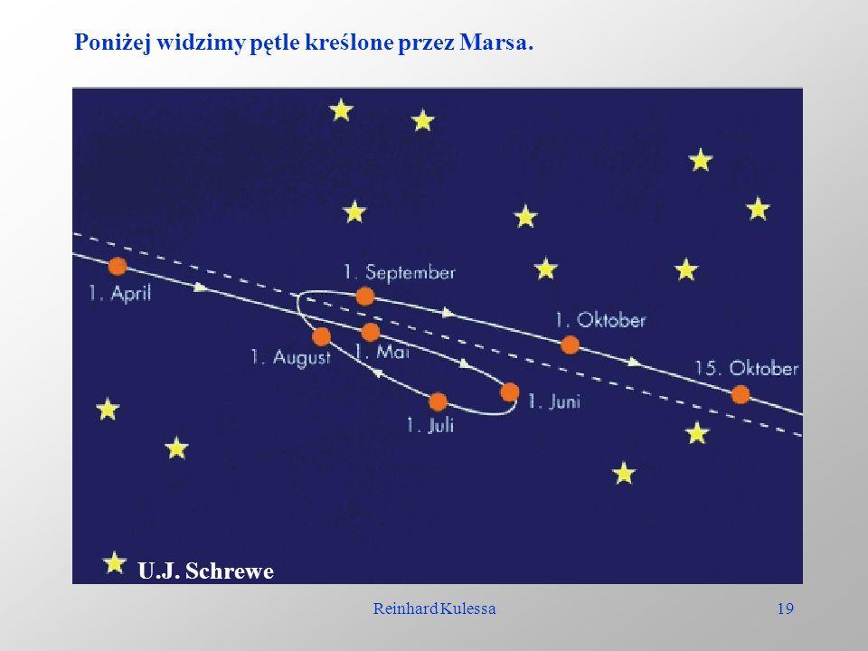 Reinhard Kulessa19 Poniżej widzimy pętle kreślone przez Marsa. U.J. Schrewe