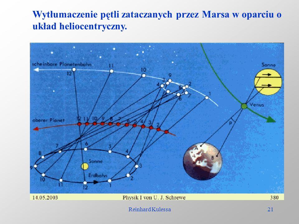Reinhard Kulessa21 Wytłumaczenie pętli zataczanych przez Marsa w oparciu o układ heliocentryczny.